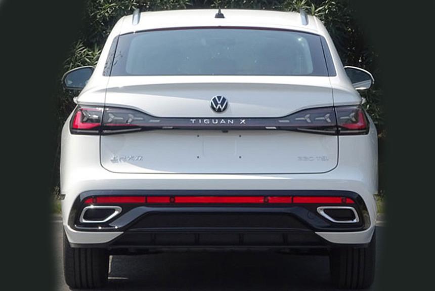 Купеобразный Volkswagen Tiguan X: раскрыта внешность