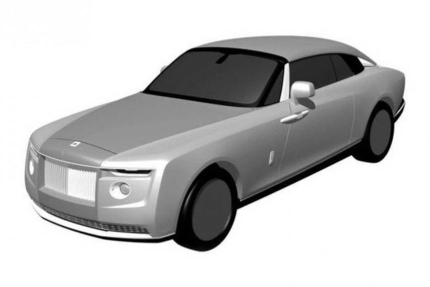 Эксклюзивный Roll-Royce засвечен в патентном бюро