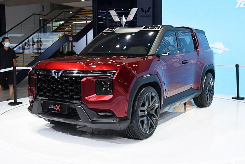 Кроссовер Wuling Hongguang X: с прицелом на экспорт