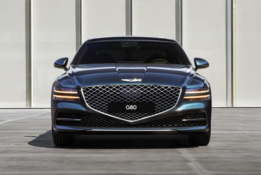 Новый Genesis G80: модификации для России