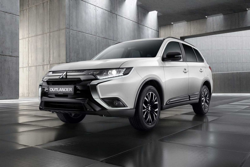 Mitsubishi Outlander Black Edition: спецверсия для России