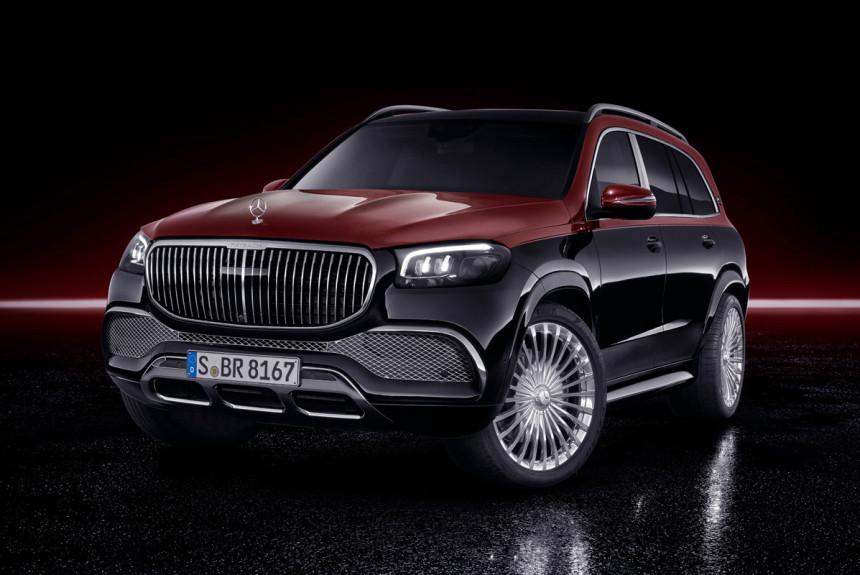 Объявлена российская цена кроссовера Mercedes-Maybach GLS