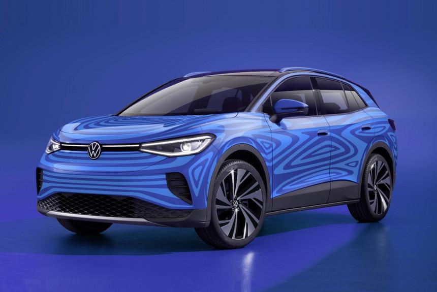 Начался серийный выпуск электромобилей Volkswagen ID.4
