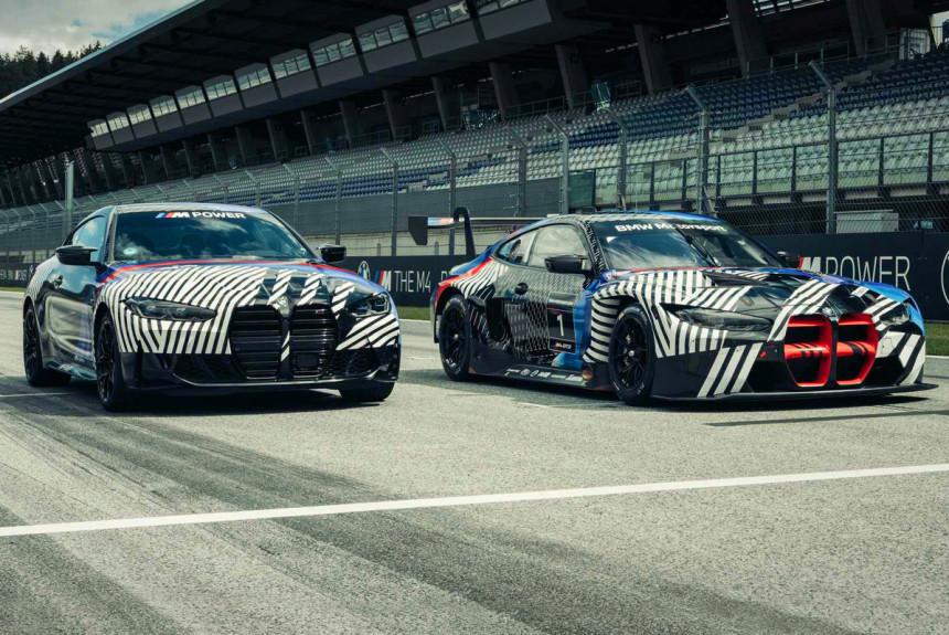 Гоночное купе BMW M4 GT3 выйдет вслед за базовой моделью