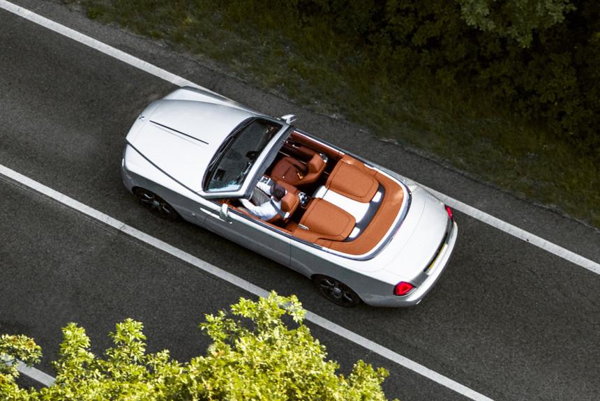 Представлен Rolls-Royce Dawn в особой версии Silver Bullet
