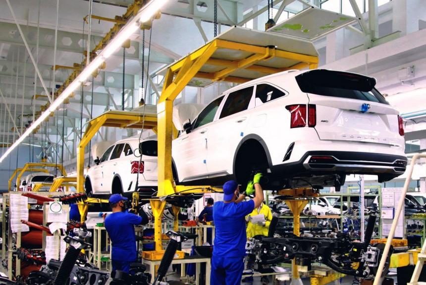 В России запустили производство нового Kia Sorento