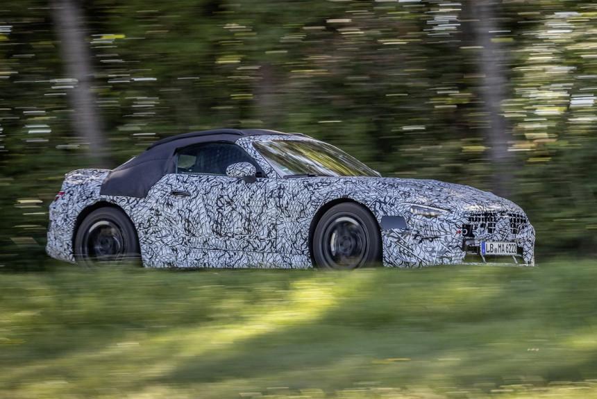 Новый Mercedes-Benz SL: первые официальные фото