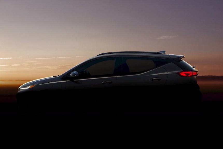 Паркетник Chevrolet Bolt EUV: на конвейере через год