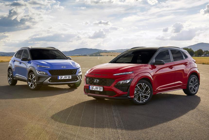 Кроссовер Hyundai Kona: рестайлинг и версия N Line