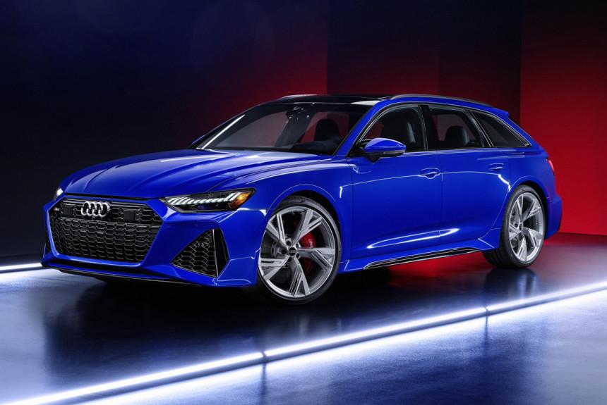 Универсал Audi RS 6 Avant: спецверсия RS Tribute для Америки