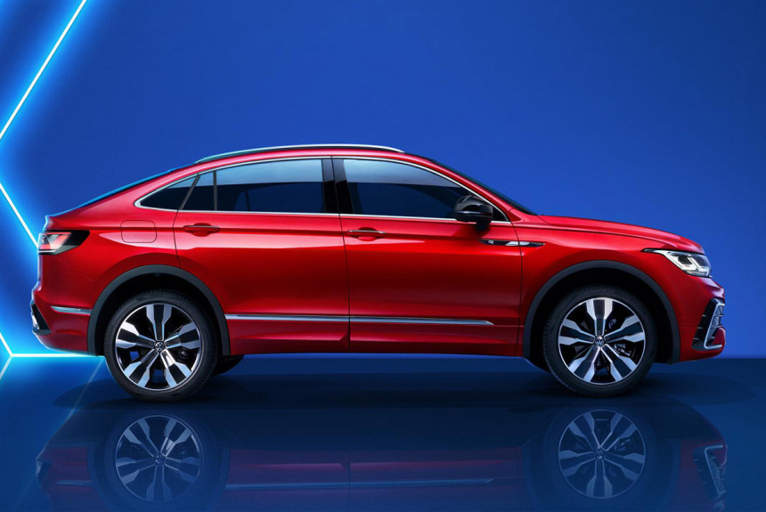 Кроссовер Volkswagen Tiguan получил купеобразную версию
