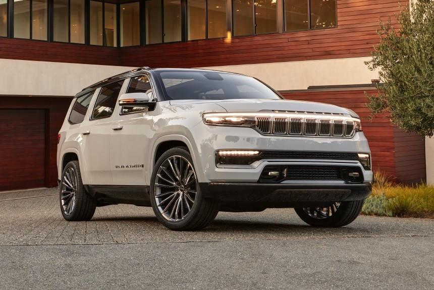 Jeep представил возрожденный внедорожник Grand Wagoneer