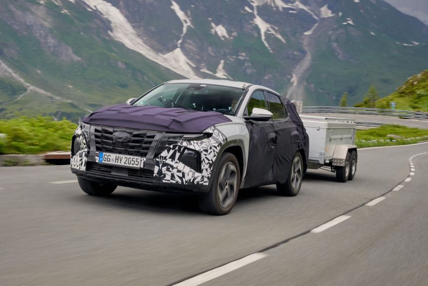 Новый Hyundai Tucson финиш дорожных испытаний