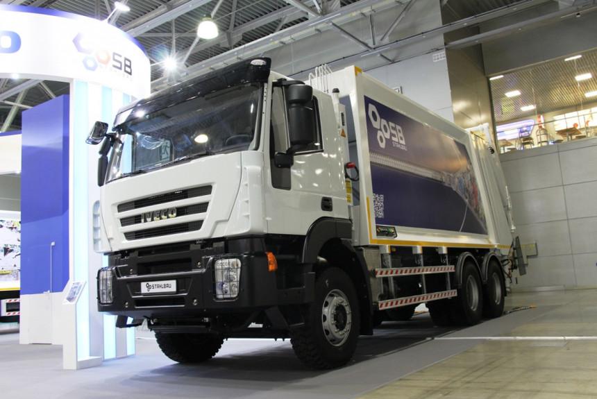 IVECO из Казахстана и другие: знакомимся с новыми мусоровозами на выставке WasteTech в Москве