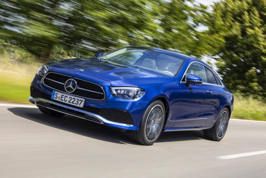 Обновленные купе и кабриолет Mercedes E-класса: цены в России