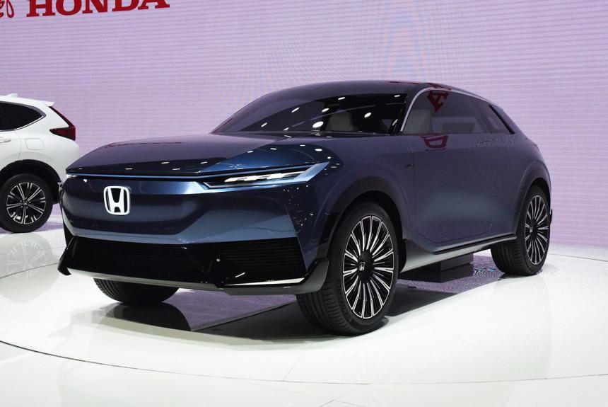 Honda SUV e:concept предвещает будущий электрокроссовер