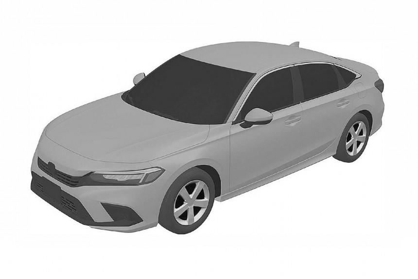 Засвечены седан и хэтчбек Honda Civic следующего поколения