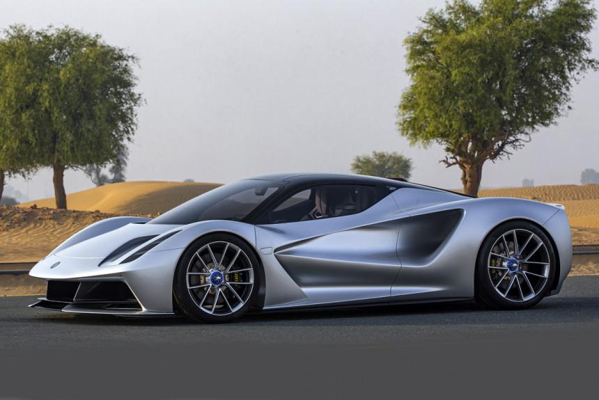 Lotus разработает электромобиль по госзаказу