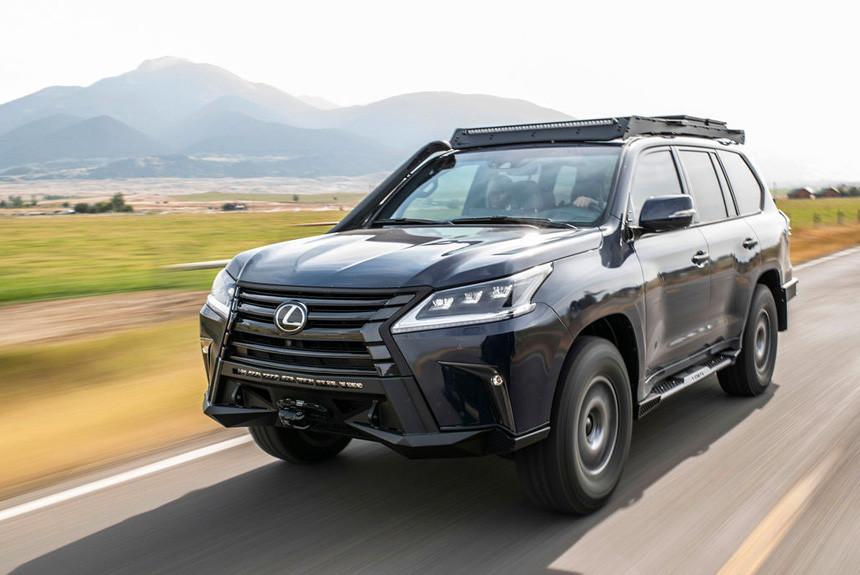 Внедорожник Lexus J201: для любителей путешествий