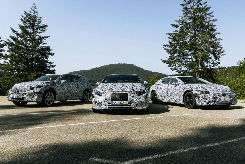 Mercedes готовит шесть новых электромобилей
