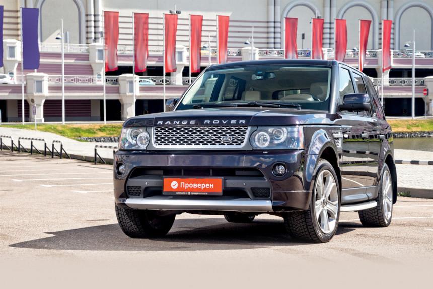 Подержанный Range Rover Sport: легко ли быть немолодым?