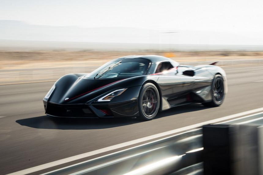 Гиперкар SSC Tuatara установил новый рекорд скорости среди серийных машин