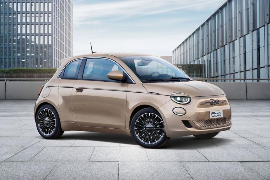 Электрический хэтчбек Fiat 500 обзавелся версией «3+1 ...