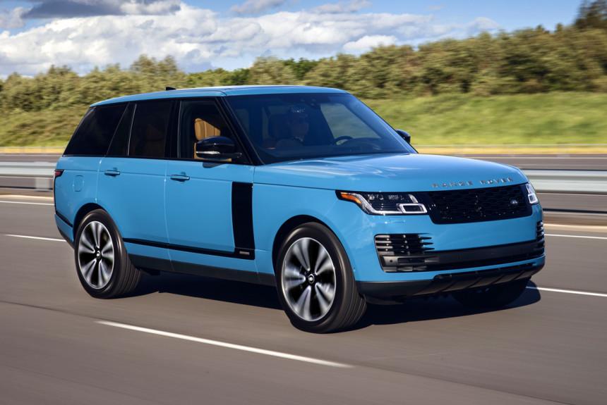 Юбилейный Range Rover Fifty цена в России