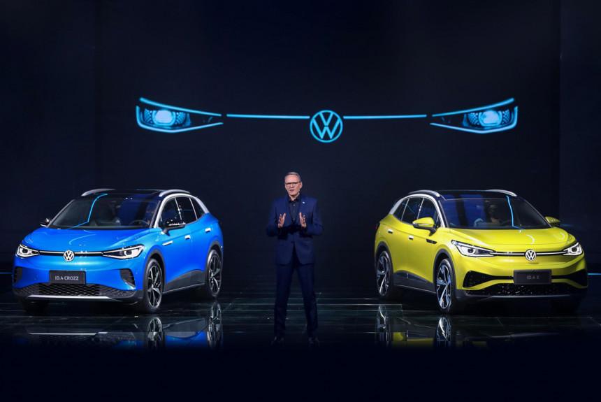У кроссовера Volkswagen ID.4 появились две новые версии