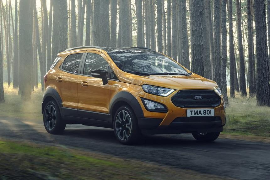 Ford EcoSport Active: официальный дебют
