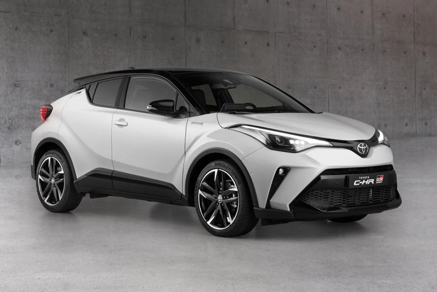 Кроссовер Toyota C-HR: версии «под спорт» и «под люкс»