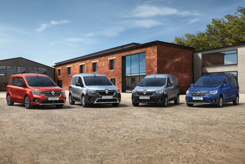 Renault рассекретила новые «каблучки» Kangoo и Express