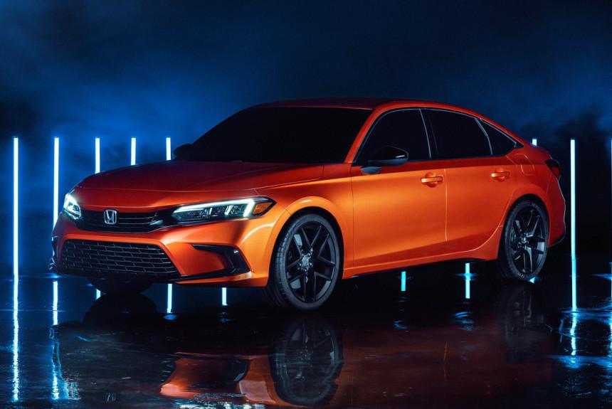 Новая Honda Civic представлена в статусе прототипа