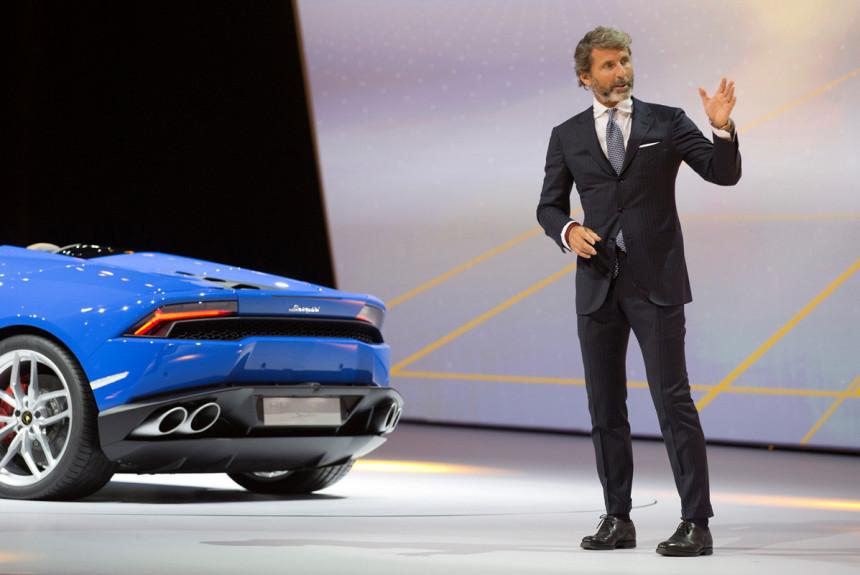 У компаний Bugatti и Lamborghini теперь один директор