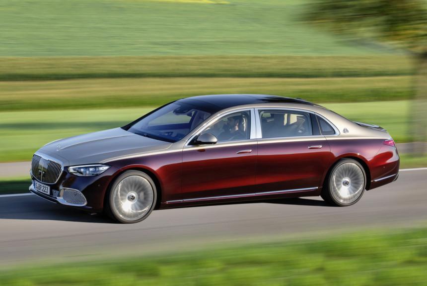 Новый Mercedes-Benz S-класса превратился в «Майбах»