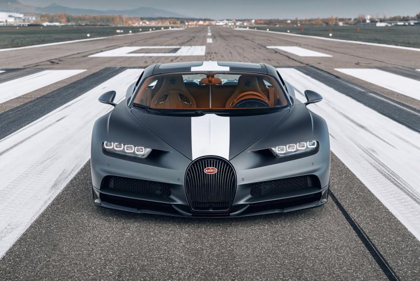 Bugatti Chiron Sport Les Légendes du Ciel: спецсерия в честь авиаторов