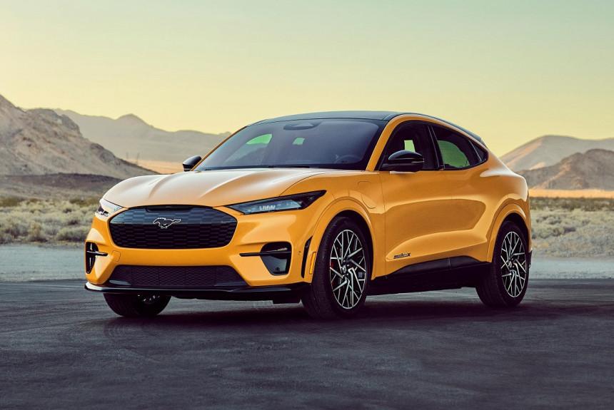 Ford Mustang Mach-E GT Performance Edition: самая быстрая версия в гамме