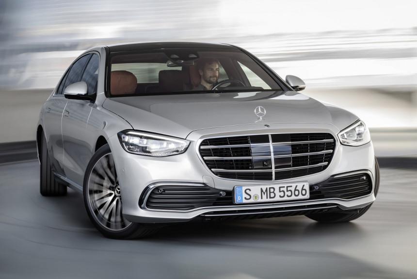 Объявлены цены на новый Mercedes-Benz S-класса