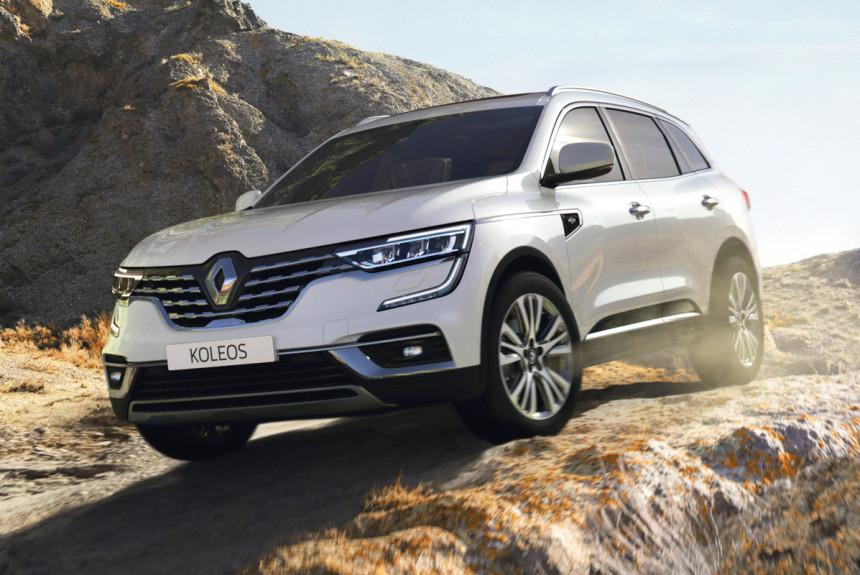 Renault Koleos снова обновлен: только богатые версии