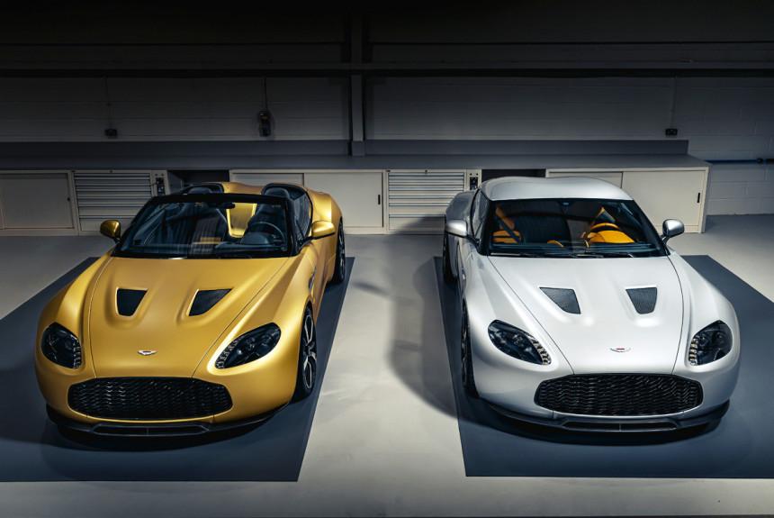 Возрожденный Aston Martin V12 Zagato: готовы первые машины