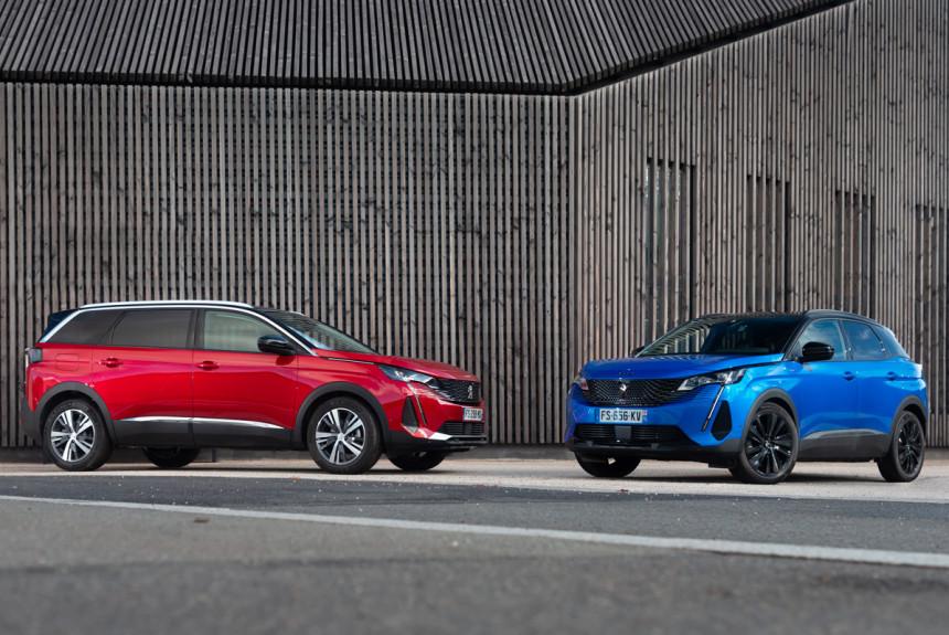 Обновленные Peugeot 3008 и 5008: цены в России