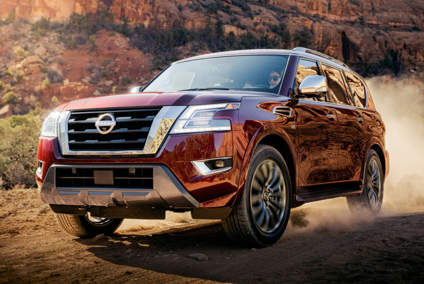 Article 171319 860 575 - Обновленный Nissan Armada не стал точной копией модели Patrol