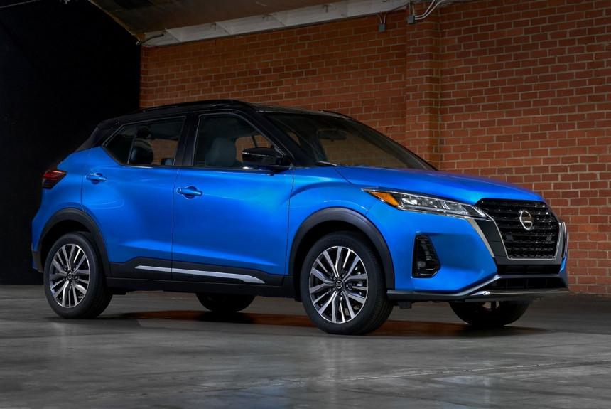 Обновленный Nissan Kicks выходит на американский рынок