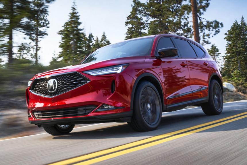Кроссовер Acura MDX нового поколения: серийная версия