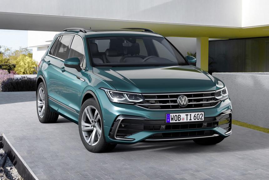 Обновленный Volkswagen Tiguan выходит на российский рынок: объявлены цены