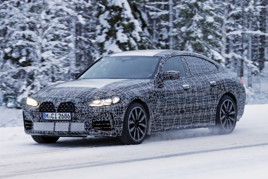BMW четвертой серии Gran Coupe: шпионские фото