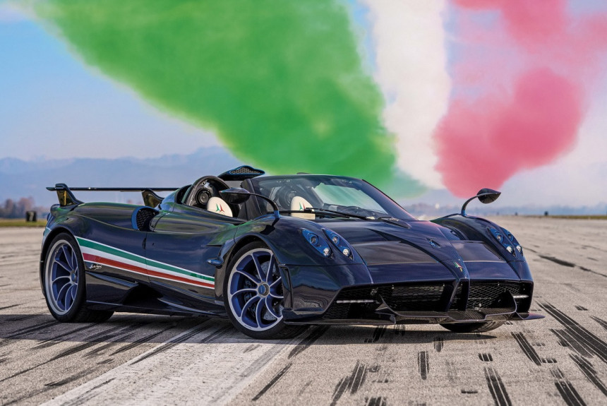 Article 171378 860 575 - Pagani Huayra Tricolore стала самой мощной в семействе