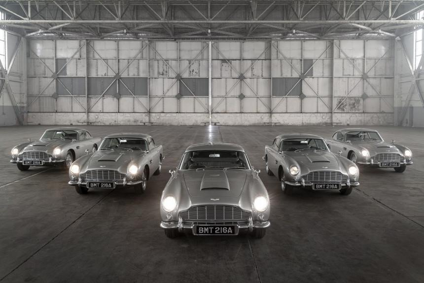 Article 171393 860 575 - Начались поставки купе Aston Martin DB5 «продолженной» серии