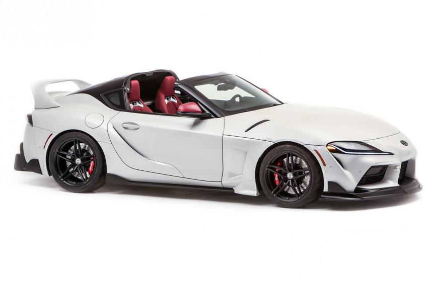 В Америке из купе Toyota GR Supra сделали таргу Sport Top