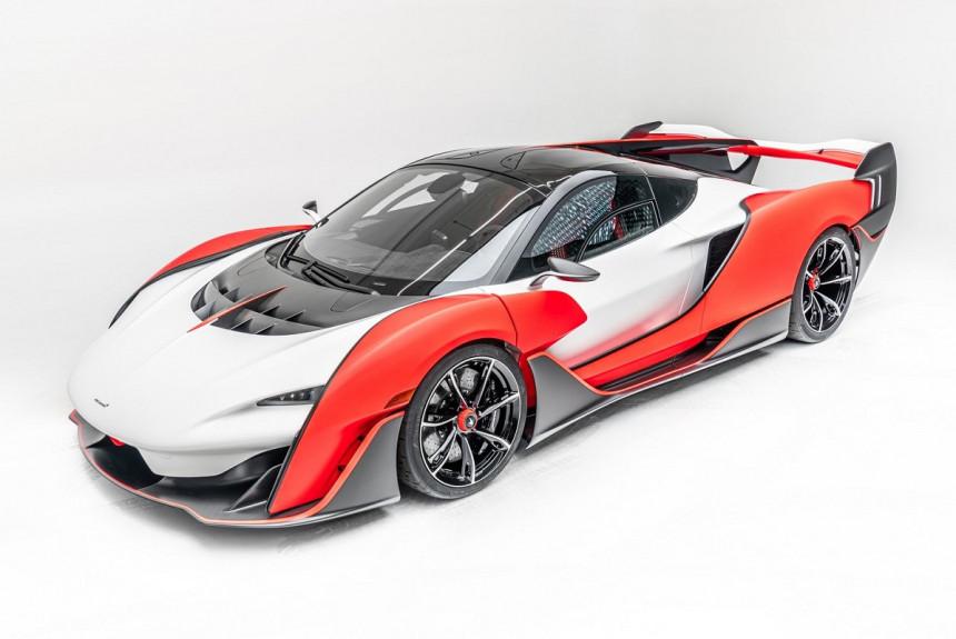 Новый суперкар McLaren Sabre: только для Калифорнии